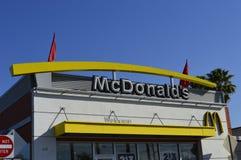 McDonald's symbol Arkivbild