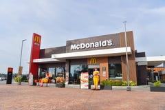 McDonald`s in Thailand. Stock Photos