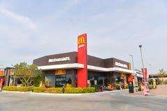 McDonald`s in Thailand. Royalty Free Stock Photo