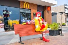 McDonald`s in Thailand. Stock Photo
