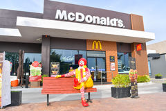 McDonald`s in Thailand. Stock Images