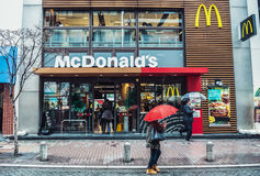 McDonald's in Tokyo Stock Photography