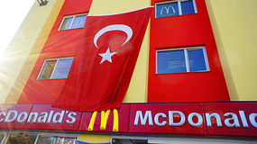 McDonald's in Turchia Immagine Stock