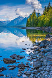 McDonald See, Glacier Nationalpark, Montana, USA Stockfotos