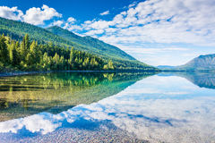 McDonald See, Glacier Nationalpark, Montana, USA Lizenzfreie Stockbilder