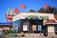 McDonald sztuki miejsce fotografia royalty free