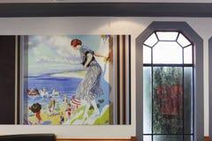 McDonald w art deco stylu w Napier Nowa Zelandia Obrazy Royalty Free