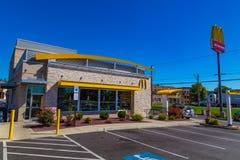 McDonalds餐馆 图库摄影