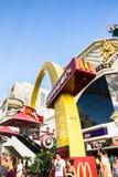 McDonalds黄金双拱,拉斯维加斯 免版税库存图片