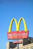 McDonalds驱动通过 库存图片