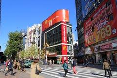 McDonalds dans Shinjuku Japon Photos libres de droits