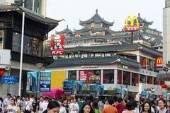 McDonalds et KFC Image libre de droits