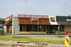 McDonalds at Frydek. Mc Donalds located in Frydek-Mistek near Ostrava, Moravia, Czech Republic Royalty Free Stock Photos