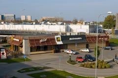 McDonalds at Frydek. Mc Donalds located in Frydek-Mistek near Ostrava, Moravia, Czech Republic Stock Images