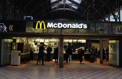 MCDONALDS KARMOWEGO łańcuchu restauracja Fotografia Royalty Free