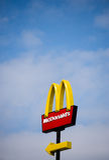 McDonalds-Logo Stockfoto