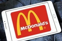 McDonalds logo Zdjęcie Royalty Free