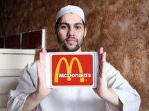 McDonalds logo Zdjęcia Stock