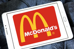 McDonalds logo Royalty Free Stock Photo