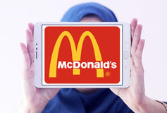 McDonalds logo Royalty Free Stock Images
