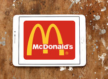 McDonalds logo Royalty Free Stock Photography