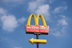 McDonalds logo Stock Images