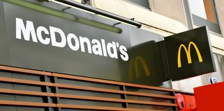 McDonalds Royalty Free Stock Photography