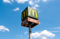 McDonalds - McCafe Stock Photography