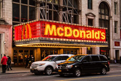 McDonalds 42nd Street Royalty Free Stock Photography