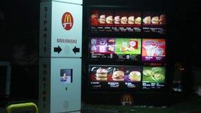 McDonalds przez zbiory wideo