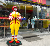 McDonalds restaurant in Bangkok Royalty Free Stock Photo