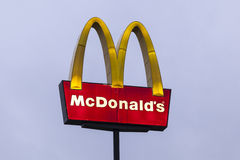McDonalds Restaurant Logo Royalty Free Stock Image