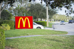 Mcdonalds Restaurant Royalty Free Stock Images
