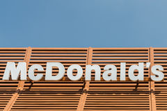 McDonalds Restaurant Sign Stock Photos