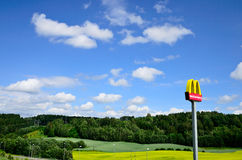 McDonalds sign Stock Photo