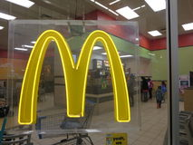 McDonalds Speicher Stockfotografie