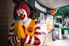 McDonalds in Thailand Royalty Free Stock Photo