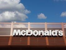 mcdonalds znak obraz stock