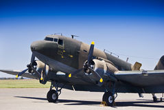 McDonnel Douglas DC-3 C-47A Stock Photo