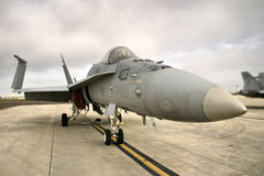 McDonnel Douglas F18 Fighter Jet Royalty Free Stock Image