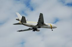 Mcdonnell Douglas DC-10 cargo jet Royalty Free Stock Images