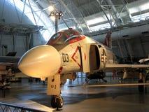 McDonnell Douglas F-4 fantom II/nationell luft och utrymmemuseum Royaltyfri Bild
