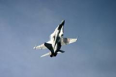 McDonnell Douglas F/A-18 Hornet Φ 18 αεριωθούμενος μαχητής Στοκ Εικόνες