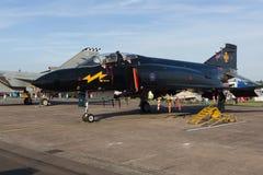 McDonnell Douglas fantom II Czarny Mike Zdjęcia Royalty Free