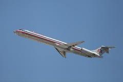 Mcdonnell Douglas MD-82 N70529 Images libres de droits