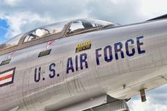 McDonnell F-101 `Voodoo Royalty Free Stock Images