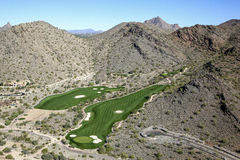 McDowell Mountains Golf Royalty Free Stock Image