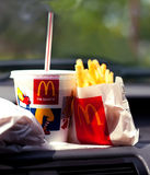 Mcdrive background Stock Images