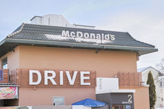 McDrive Royalty Free Stock Image