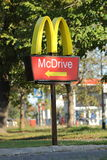 McDrive sign Stock Photos